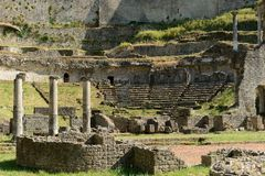 Volterra-Amphitheatre Royalty Free Stock Images