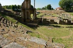 Volterra-Amphitheatre Stock Photo