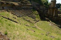 Volterra-Amphitheatre Stock Photos