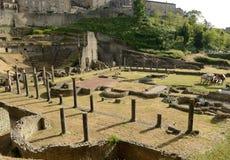 Volterra-Amphitheatre Stock Photography