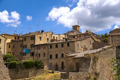 Volterra beautiful medieval town in Tuscany royalty free stock photography