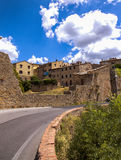 Volterra beautiful medieval town in Tuscany royalty free stock image