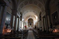 Volterra church. Interior of the Volterra church Royalty Free Stock Photos