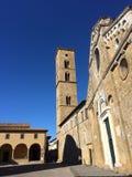 Volterra Duomo royaltyfria bilder