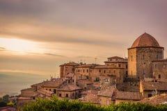 Volterra i Toscana Royaltyfri Fotografi
