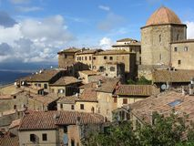 Volterra Italië Royalty-vrije Stock Fotografie