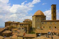 Volterra Italien, Tuscany arkivfoto