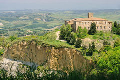 Volterra Kirche lizenzfreies stockbild