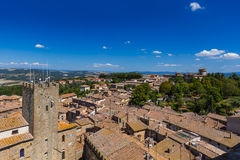 Volterra medieval town in Tuscany Italy Royalty Free Stock Photos