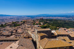 Volterra medieval town in Tuscany Italy Stock Photos