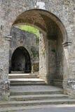 Volterra miasta ściany obraz stock