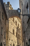 Volterra (Pisa) - Historic buildings Royalty Free Stock Photos