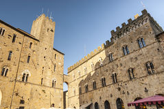 Volterra (Pisa) - Historic buildings Stock Photos