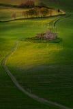 Volterra Pisa - Italien Arkivbilder