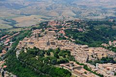 Volterra-Pisa-Italy Stock Photos