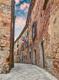 Volterra, Pisa, Tuscany, Italy alley in the old town Stock Image