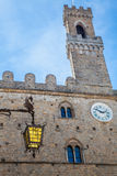 Volterra - Priori Palace Royalty Free Stock Photography
