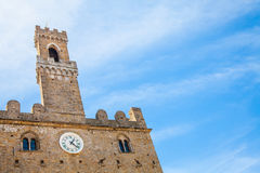 Volterra - Priori Palace Royalty Free Stock Photos
