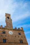 Volterra - Priori Palace Royalty Free Stock Images