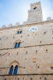 Volterra - Priori Palace Stock Photography
