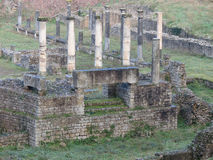 Volterra, Roman theatre Royalty Free Stock Photography