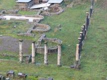 Volterra, Roman theatre Stock Photo