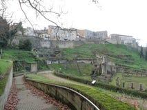 Volterra romersk teater Royaltyfri Bild