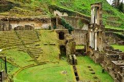 Volterra rzymianina teatr fotografia royalty free
