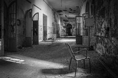 Volterra's sanitarium Royalty Free Stock Images