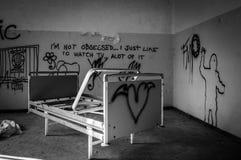 Volterra sanitarium zdjęcie stock