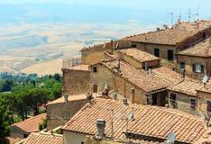 Volterra-Stadt, Toskana, Italien Stockfoto
