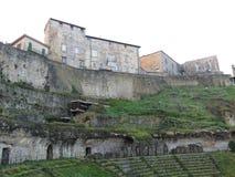 Volterra, théâtre romain Image libre de droits