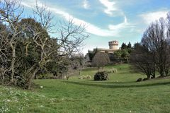 Volterra in Toscana Immagini Stock