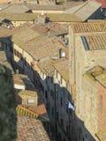 Volterra, Toskana, Italien Stockfoto