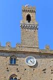 Volterra, Tuscany - Ancient City Hall Royalty Free Stock Photos
