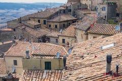 Volterra, Tuscany, historyczny miasto Obraz Stock