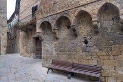 Volterra, Tuscany, historyczny miasto Zdjęcie Stock