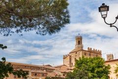 Volterra Tuscany, Italien Royaltyfri Fotografi