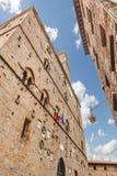 Volterra Tuscany, Italien Arkivbilder