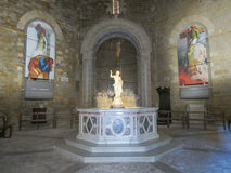 Volterra Tuscany, Italien Arkivfoton