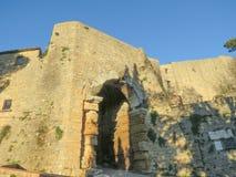 Volterra Tuscany, Italien Fotografering för Bildbyråer
