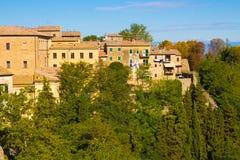 Volterra in Tuscany, Italy Stock Photography