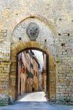 Volterra, Tuscany, Włochy obraz stock