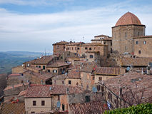 Volterra view - Tuscany, Italy Stock Images