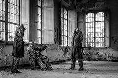 Volterras Sanatorium lizenzfreie stockfotos