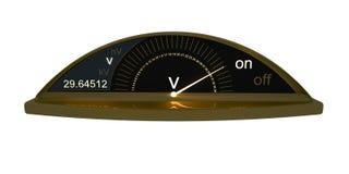 Voltmètre Photographie stock libre de droits