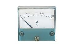 Voltmeter zdjęcia stock
