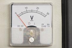 voltmeter stockfoto