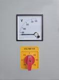 Voltmeter Lizenzfreie Stockbilder