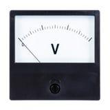 voltmeter lizenzfreies stockbild